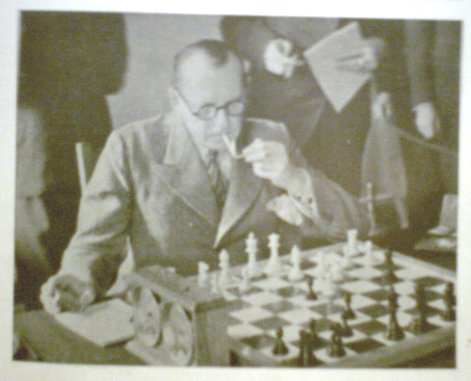 Alekhine ponders his error